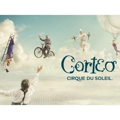 Cirque du soleil in Corteo